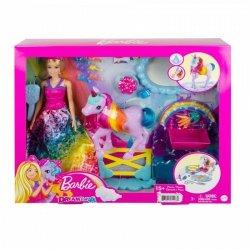 Lalka Barbie Księżniczka i jednorożec - Nauka toalety