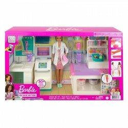 Lalka Barbie u lekarza - Zakładamy gips Zestaw