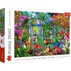 Puzzle 1500 elementów - Tajemniczy ogród