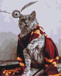 Obraz Paint it! Malowanie po numerach. Kot łapacz zniczy z Harrego Pottera