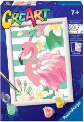 Malowanka CreArt dla dzieci Różowy flaming