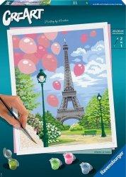 Malowanka CreArt Wiosna w Paryżu