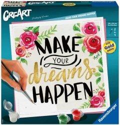 Malowanka CreArt Make your dreams happen