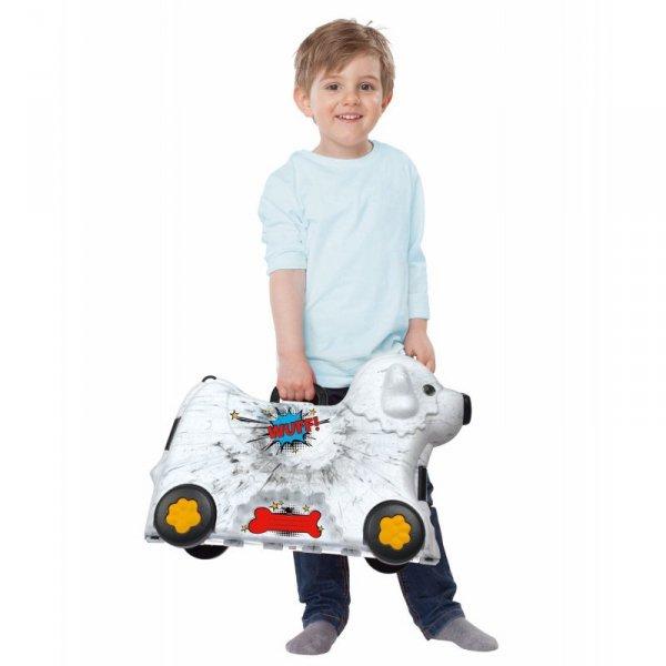 BIG Jeżdżąca walizka Jeździk Bobby Trolley Biała