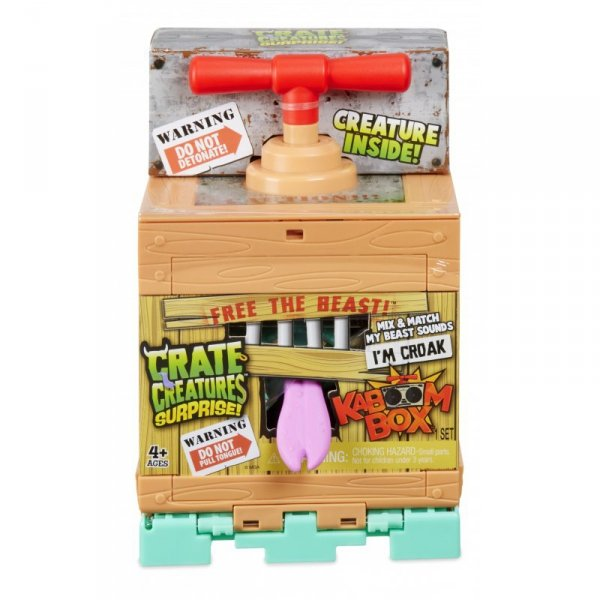 Crate Creatures Suprise KaBOOM Stworek Croak