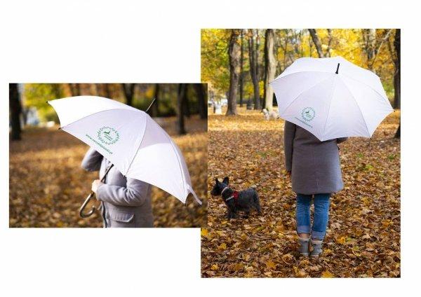 Parasol Jelonki - biały