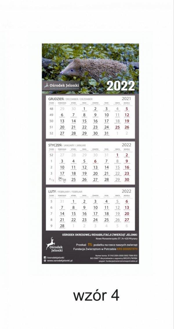 Kalendarz trójdzielny 2022 - #4