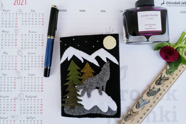 Notes Wilk i góry