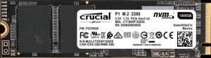 Dysk Crucial p1 CT1000P1SSD8 (1 TB ; M.2; PCIe NVMe 3.0 x4)