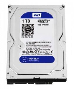 Dysk WD Blue WD10EZEX (1 TB ; 3.5; SATA III; 64 MB; 7200 obr/min)