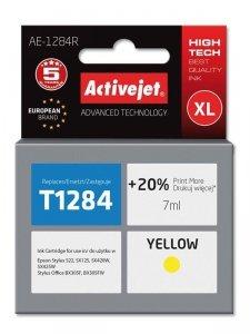 Tusz Activejet AE-1284R (zamiennik Epson T1284; Premium; 7 ml; żółty)