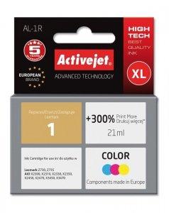 Tusz Activejet AL-1R (zamiennik Lexmark 1 18C0781E; Premium; 21 ml; kolor)