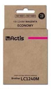 Tusz ACTIS KB-1240M (zamiennik Brother LC1240M/LC1220M; Standard; 19 ml; czerwony)