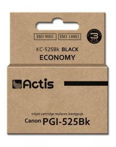Tusz ACTIS KC-525Bk (zamiennik Canon PGI-525GBK; Standard; 20 ml; czarny)