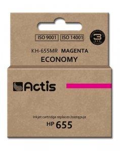 Tusz ACTIS KH-655MR (zamiennik HP 655 CZ111AE; Standard; 12 ml; czerwony)