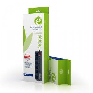 Listwa zasilająca ENERGENIE EG-PM2 (6 x UTE; 1,8m; kolor czarny)