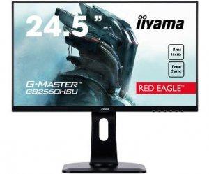 Monitor IIYAMA G-Master Red Eagle GB2560HSU-B1 (24,5; TN; FullHD 1920x1080; DisplayPort, HDMI; kolor czarny)