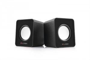 Zestaw głośników komputerowe LOGIC G-Y-0LS09-BLA-2 (2.0; kolor czarny)
