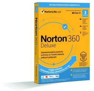 NortonLifeLock Norton 360 Deluxe 1 rok/lata