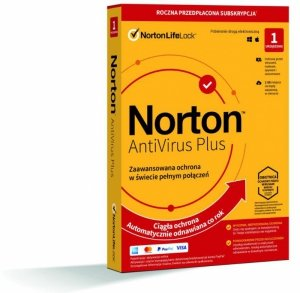 NortonLifeLock Norton AntiVirus Plus 1 rok/lata