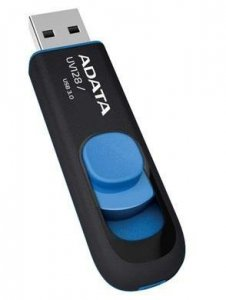 Pendrive ADATA UV128 AUV128-32G-RBE (32GB; USB 3.0; kolor czarny)