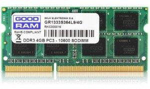 Pamięć GoodRam GR1600S364L11S/4G (DDR3 SO-DIMM; 1 x 4 GB; 1600 MHz; CL11)