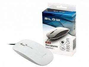 Mysz BLOW MP-30 84-031# (optyczna; 1000 DPI; kolor biały)