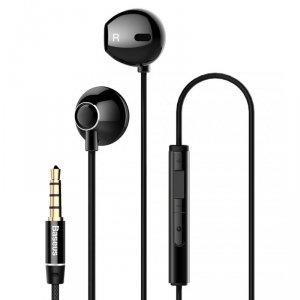 Słuchawki z mikrofonem Baseus NGH06-01 (kolor czarny)
