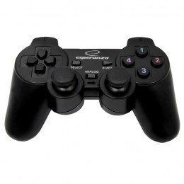 Gamepad Esperanza EG106 (PC, PS2, PS3; kolor czarny)
