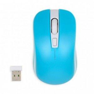 Mysz IBOX LORIINI IMOF008WBL (optyczna; 1600 DPI; kolor niebieski