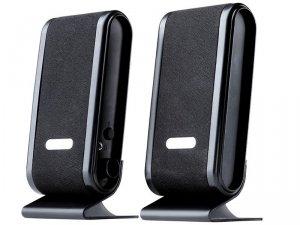 Głośnik komputerowe Tracer QUANTO TRAGLO43293 (2.0; kolor czarno-srebrny)
