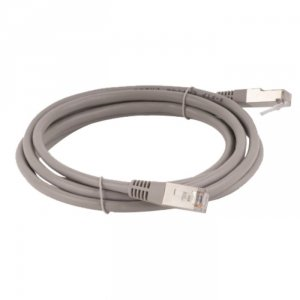 Patchcord FTP A-LAN KKF5SZA0.5 (RJ45 - RJ45 ; 0,50m; FTP; kat. 5e; kolor szary)