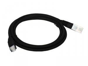 Patchcord UTP A-LAN KKU5CZA0.5 (RJ45 - RJ45 ; 0,50m; UTP; kat. 5e; kolor czarny)
