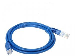 Patchcord UTP A-LAN KKU5NIE0.5 (RJ45 - RJ45 ; 0,50m; UTP; kat. 5e; kolor niebieski)