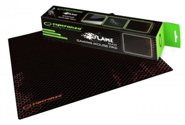 Podkładka gamingowa pod mysz Esperanza Flame EGP103R (300mm x 400mm)