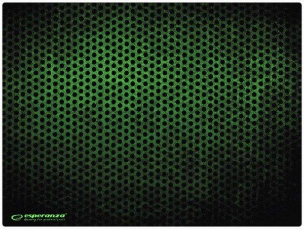 Esperanza EGP103G podkładka pod mysz Czarny, Zielony Podkładka do myszki do grania