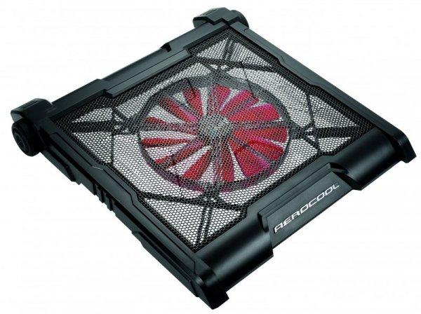 """Aerocool Strike X X1 podkładka chłodząca do notebooków 48,3 cm (19"""") Czarny, Czerwony"""