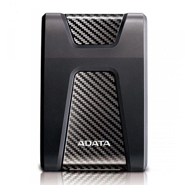"""Dysk zewnętrzny HDD ADATA HD650 AHD650-2TU31-CBK (2 TB; 2.5""""; USB 3.1; kolor czarny)"""