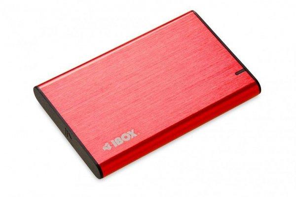 """OBUDOWA I-BOX HD-05 ZEW 2,5"""" USB 3.1 GEN.1 RED"""