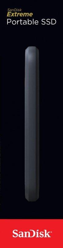 Sandisk Extreme 250 GB Szary, Pomarańczowy
