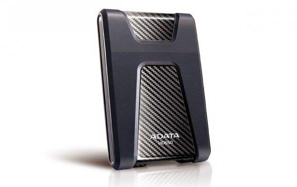 ADATA DashDrive Durable HD650 zewnętrzny dysk twarde 1000 GB Czarny