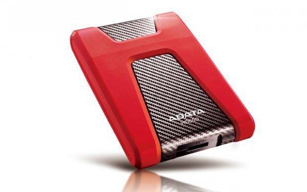 ADATA DashDrive Durable HD650 zewnętrzny dysk twarde 1000 GB Czerwony