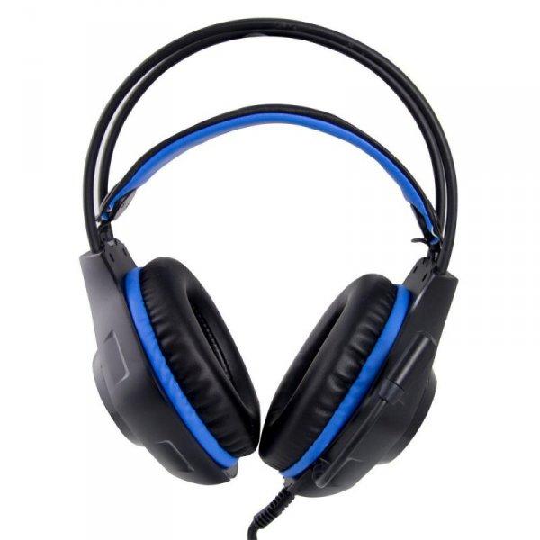 Słuchawki Esperanza EGH420B DEATHSTRIKE (kolor czarny, kolor niebieski)