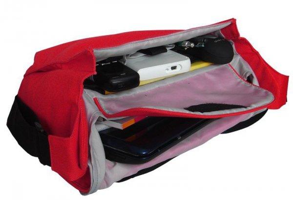 "Torba na laptopa Addison 1301 (10,2""; kolor czerwony)"