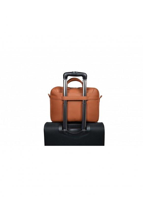 """Torba na laptopa PORT DESIGNS Zurich 110304 ( Top Load; 13/14""""; kolor brązowy)"""