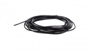 Wąż osłonowy spiralny 8/6,5mm czarny SP6BK /10m/