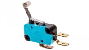Wyłącznik krańcowy miniaturowy 1CO dźwignia podgięta z rolką z tworzywa T0-MK1MIP3