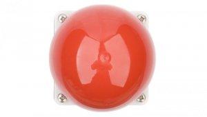 Duży przycisk bezpieczeństwa 1R 1Z z samopowrotem czerwony IP67 FAK-R/KC11/I 229746