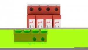 Ogranicznik przepięć C Typ 2 4P 20kA 1,5kV DEHNguard M TNS 275 952400