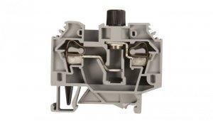 Złączka bezpiecznikowa 6mm2 szary 10A G 5x 20mm DIN 35mm 282-122